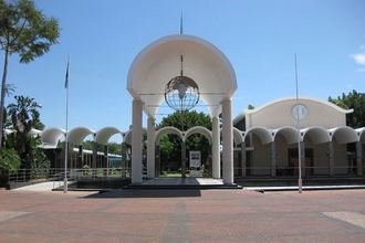 Габороне. Здание парламента